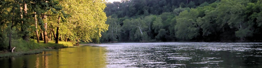 On the Shenandoah River in Luray VA